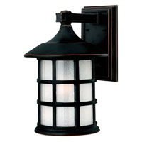 Hinkley Lighting Freeport 1 Light Outdoor Wall Lantern in Olde Penny 1805OP-DS photo thumbnail