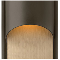 Hinkley 1830BZ Cascade 1 Light 15 inch Bronze Outdoor Wall Mount in Incandescent alternative photo thumbnail