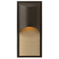 Hinkley Lighting Cascade 1 Light Outdoor Wall Lantern in Bronze 1834BZ-LED