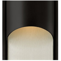 Hinkley 1834SK Cascade 1 Light 18 inch Satin Black Outdoor Wall Mount in Incandescent alternative photo thumbnail