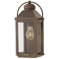 Hinkley 1850LZ Anchorage 1 Light 13 inch Light Oiled Bronze Outdoor Wall Mount, Heritage