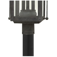 Hinkley 1851DZ Heritage Anchorage 3 Light 24 inch Aged Zinc Outdoor Post Top/Pier Mount in Incandescent alternative photo thumbnail