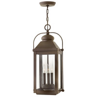 Hinkley 1852LZ-LL Anchorage LED 11 inch Light Oiled Bronze Outdoor Hanging Lantern