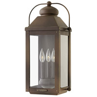Hinkley 1855LZ-LL Anchorage LED 21 inch Light Oiled Bronze Outdoor Wall Mount Heritage