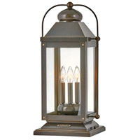 Hinkley 1857LZ-LL Heritage Anchorage LED 24 inch Light Oiled Bronze Outdoor Pier Mount