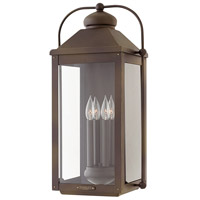 Hinkley 1858LZ-LL Anchorage LED 25 inch Light Oiled Bronze Outdoor Wall Mount, Heritage