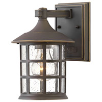 Hinkley 1860OZ Coastal Elements Freeport 1 Light 9 inch Oil Rubbed Bronze Outdoor Wall Mount