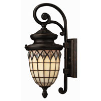 Hinkley Lighting Innsbruck 1 Light Outdoor Wall Lantern in Regency Bronze 1860RB-ES photo thumbnail