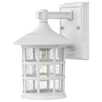 Hinkley 1860TW Coastal Elements Freeport 1 Light 9 inch Textured White Outdoor Wall Mount