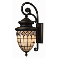 Hinkley Lighting Innsbruck 1 Light Outdoor Wall Lantern in Regency Bronze 1864RB-ES photo thumbnail