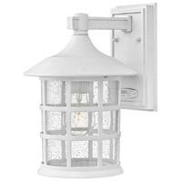 Hinkley 1864TW Freeport 1 Light 12 inch Textured White Outdoor Wall Mount Coastal Elements