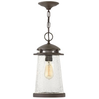Hinkley 1882OZ Tatum 1 Light 8 inch Oil Rubbed Bronze Outdoor Hanging Light