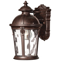 Hinkley Lighting Windsor 1 Light LED Outdoor Wall in River Rock 1890RK-LED