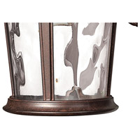 Hinkley 1890RK Windsor 1 Light 13 inch River Rock Outdoor Wall Mount in Incandescent alternative photo thumbnail
