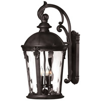 Hinkley Lighting Windsor 1 Light LED Outdoor Wall in Black 1899BK-LED