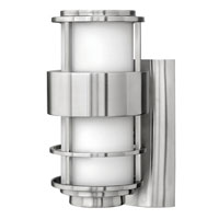 Hinkley Lighting Saturn 1 Light Outdoor Wall Lantern in Stainless Steel 1900SS-EST