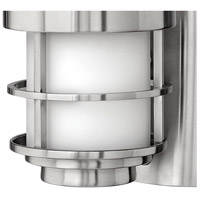 Hinkley 1900SS-LED Saturn LED 12 inch Stainless Steel Outdoor Wall Mount, Etched Opal Glass alternative photo thumbnail