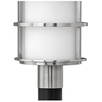 Hinkley 1901SS Saturn 1 Light 22 inch Stainless Steel Outdoor Post Mount in Etched Opal, Incandescent, Post Sold Separately alternative photo thumbnail