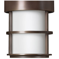 Hinkley 1902MT-LED Saturn LED 10 inch Metro Bronze Outdoor Hanging Light, Etched Opal Glass alternative photo thumbnail