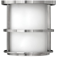 Hinkley 1902SS-LED Saturn LED 10 inch Stainless Steel Outdoor Hanging Light, Etched Opal Glass alternative photo thumbnail