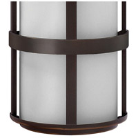 Hinkley 1909MT Saturn 2 Light 21 inch Metro Bronze Outdoor Wall Mount in Incandescent alternative photo thumbnail