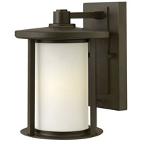 Hudson 1 Light 10 inch Oil Rubbed Bronze Outdoor Wall Mount in Incandescent