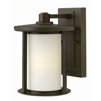Hudson 1 Light 10 inch Oil Rubbed Bronze Outdoor Wall in GU24
