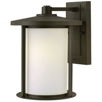 Hinkley 1914OZ Hudson 1 Light 12 inch Oil Rubbed Bronze Outdoor Wall Mount in Incandescent