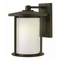 Hinkley 1914OZ-GU24 Hudson 1 Light 12 inch Oil Rubbed Bronze Outdoor Wall in GU24