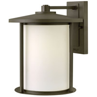 Hinkley 1915OZ Hudson 1 Light 14 inch Oil Rubbed Bronze Outdoor Wall Mount in Incandescent