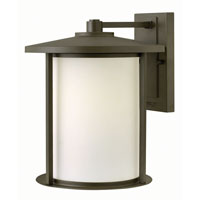 Hudson 1 Light 14 inch Oil Rubbed Bronze Outdoor Wall in GU24