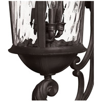 Hinkley 1929BK Windsor 6 Light 42 inch Black Outdoor Wall Mount in Clear Water, Incandescent, Clear Water Glass alternative photo thumbnail