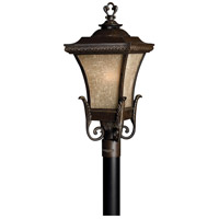 Hinkley 1931RB Brynmar 1 Light 27 inch Regency Bronze Post Lantern in Incandescent, Post Sold Separately