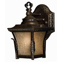 Hinkley Lighting Brynmar 1 Light Outdoor Wall Lantern in Regency Bronze 1936RB-ES