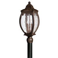 Hinkley 1941FZ Forum 3 Light 24 inch French Bronze Post Lantern, Post Sold Separately
