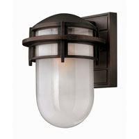 Hinkley Lighting Reef 1 Light Outdoor Wall Lantern in Victorian Bronze 1950VZ-ES