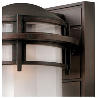 Hinkley 1950VZ Reef 1 Light 11 inch Victorian Bronze Outdoor Wall Mount in Translucent Sandblasted, Incandescent alternative photo thumbnail
