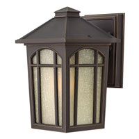 Hinkley Lighting Cedar Hill 1 Light Dark Sky Outdoor Wall Lantern in Oil Rubbed Bronze 1980OZ-DS photo thumbnail
