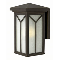 Drake 1 Light 14 inch Oil Rubbed Bronze Outdoor Wall in GU24