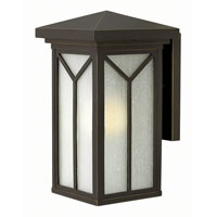 Hinkley Lighting Drake 1 Light Outdoor Wall in Oil Rubbed Bronze 1990OZ-LED
