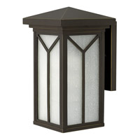 Hinkley 1990OZ Drake 1 Light 14 inch Oil Rubbed Bronze Outdoor Wall in Incandescent