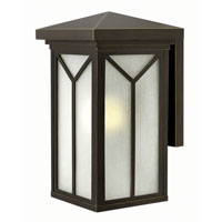 Drake 1 Light 18 inch Oil Rubbed Bronze Outdoor Wall in GU24