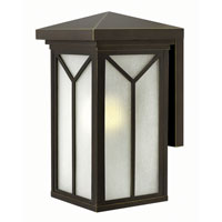 Hinkley Lighting Drake 1 Light Outdoor Wall in Oil Rubbed Bronze 1994OZ-LED