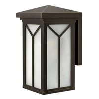 Hinkley 1994OZ Drake 1 Light 18 inch Oil Rubbed Bronze Outdoor Wall in Incandescent