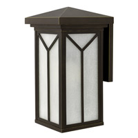 Hinkley Lighting Drake 1 Light Outdoor Wall in Oil Rubbed Bronze 1995OZ