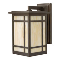 Hinkley Lighting Parkside 1 Light Outdoor Wall Lantern in Oil Rubbed Bronze 2000OZ-ESDS
