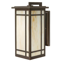 Hinkley Lighting Parkside 1 Light Outdoor Wall Lantern in Oil Rubbed Bronze 2004OZ-ES