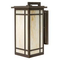 Hinkley Lighting Parkside 1 Light Outdoor Wall Lantern in Oil Rubbed Bronze 2004OZ-LED photo thumbnail