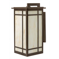 Hinkley Lighting Parkside 1 Light Outdoor Wall Lantern in Oil Rubbed Bronze 2005OZ-ES