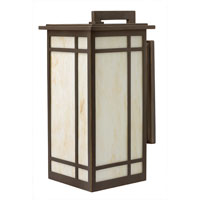 Hinkley Lighting Parkside 1 Light Outdoor Wall Lantern in Oil Rubbed Bronze 2005OZ-ESDS